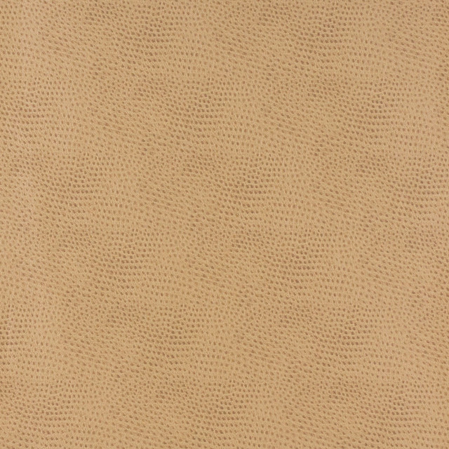 Beige Smooth Emu Look Faux Leather Leatherette By The