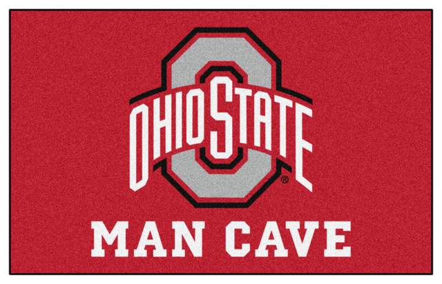 Ohio State Man Cave Furniture : Ohio state man cave ultimat rug x contemporary