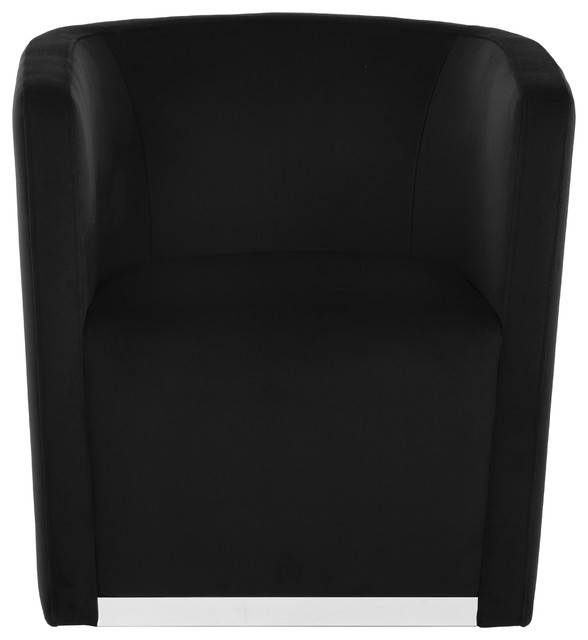 Sunpan Queenie Swivel Chair Contemporary Armchairs And