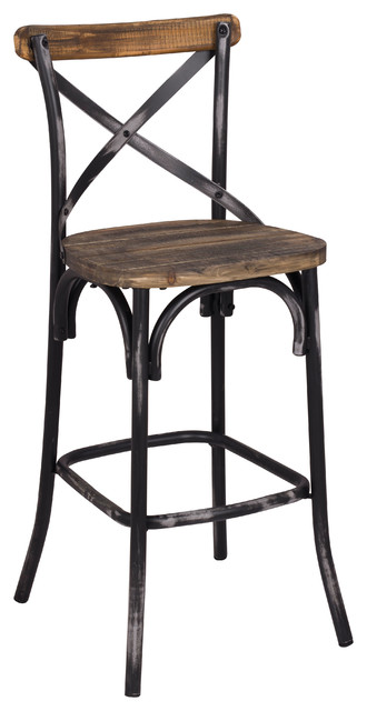 Zaire Bar Chair Rustic Bar Stools And Counter Stools
