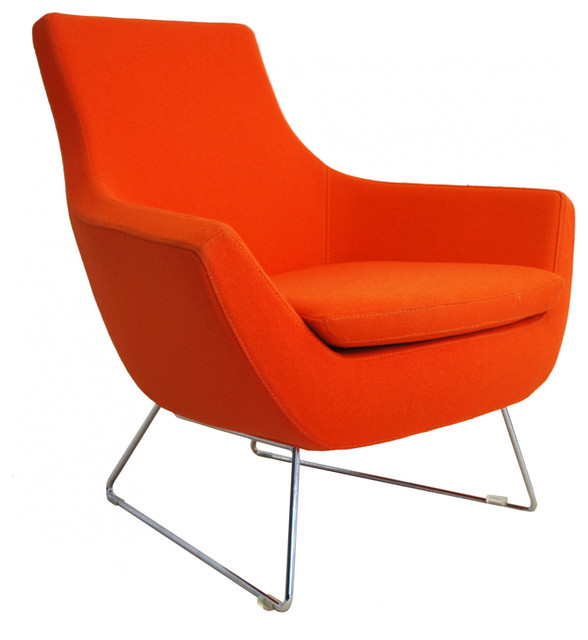 Rebacca Chair Modern Armchairs Accent Chairs New York By Zin Home