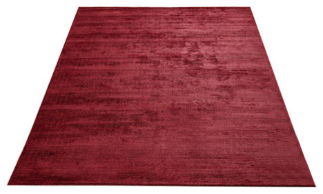 Conran Rug Red Eclectic Floor Rugs
