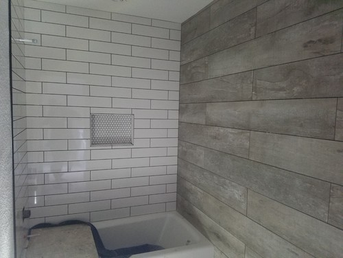 Bedroom Pictures From A Hotel With The Reclaimed Wood We Like And Bathroom Picture Is Of Our New Grain Tiles On Wall