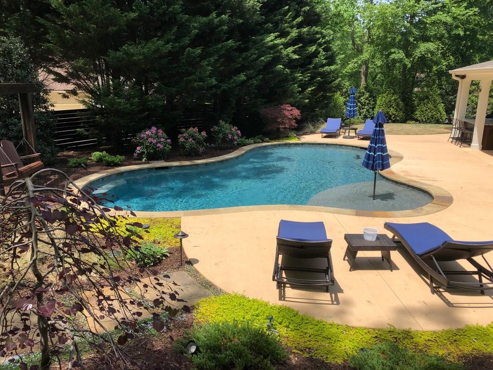 Alpharetta Pool Area