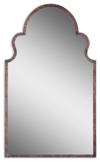 Uttermost 12668 P Brayden Arch Metal Mirror.