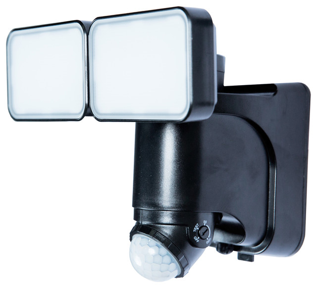 Solar Led Motion Activated Security Light With Power Reserve Technology.