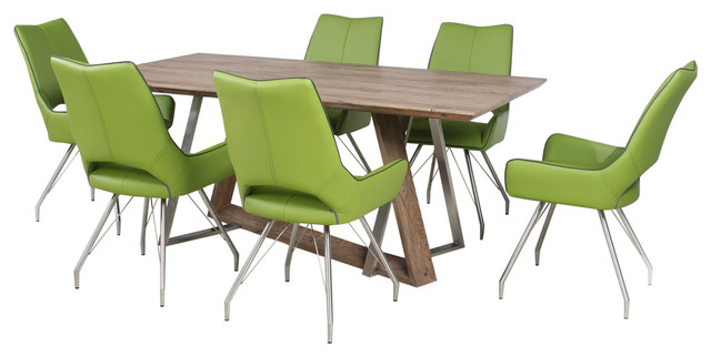 Madison Dining Table With Melbourne Chairs Gr Green Large Contemporary Sets By Shankar Uk Llp