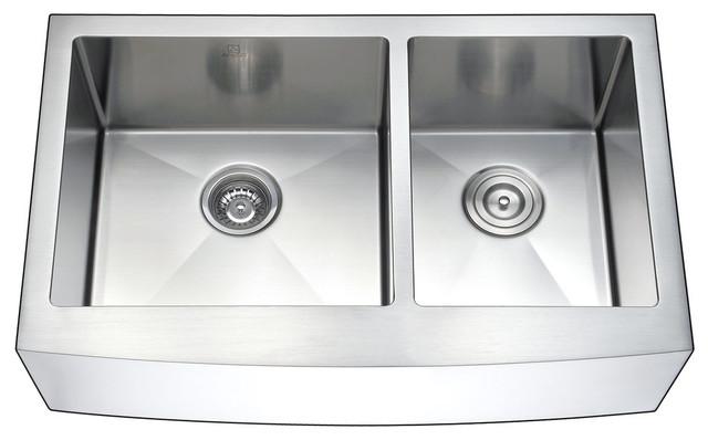 Anzzi Elysian Farmhouse Stainless Steel Kitchen Sink W/singer Faucet.