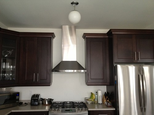 Kitchen hood fan