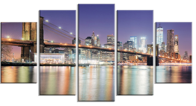 "Industrial Metal Wall Art new york city with freedom tower"" metal wall art - industrial"