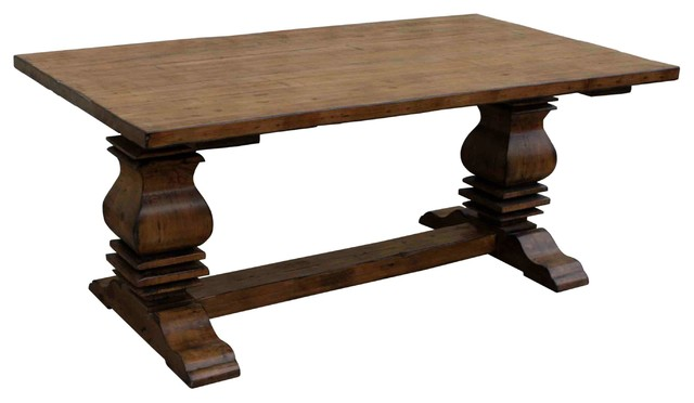 Anaheim Trestle Reclaimed Wood Dining Table