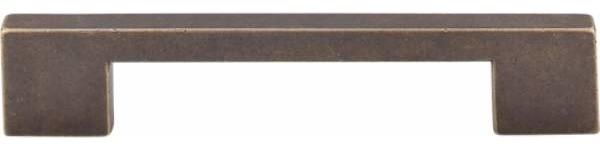 Top Knobs: Linear Pull 5 Inch (C-C) - Flat Black - Contemporary - Cabinet And Drawer Handle ...