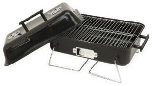 "Square Charcoal Grill, 19x11.5""."