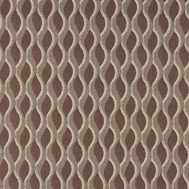 Wavy Striped Durable Upholstery Fabric