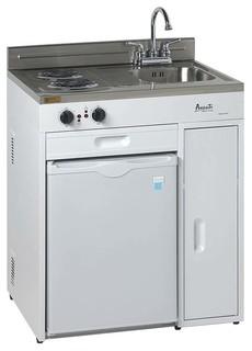 Avanti avanti ck3016 complete compact kitchen with for Avanti kitchen cabinets