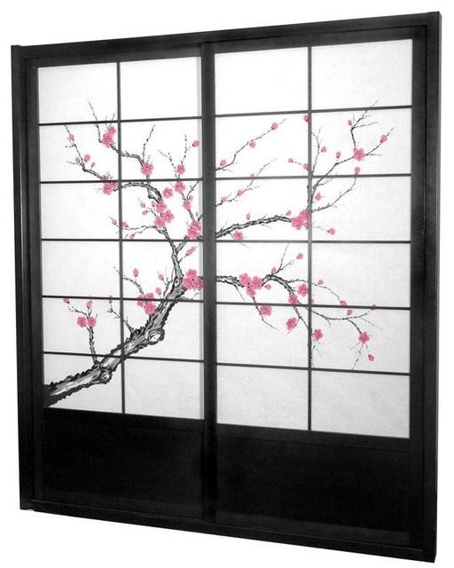 Shop Houzz | Oriental Furniture 7 ft. Tall Cherry Blossom Shoji ...