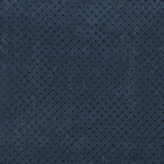 Solid Navy Blue Microfiber Upholstery Fabric By The Yard - View In