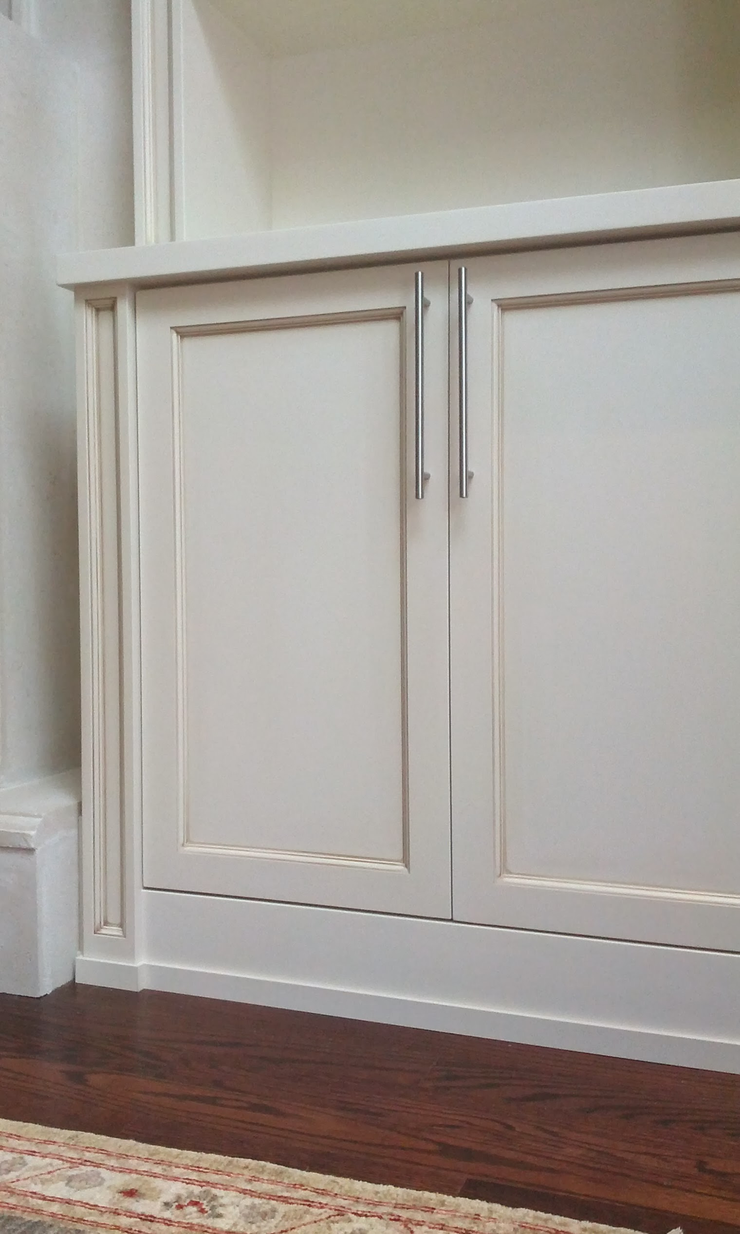 Built-in Units around existing Fireplace