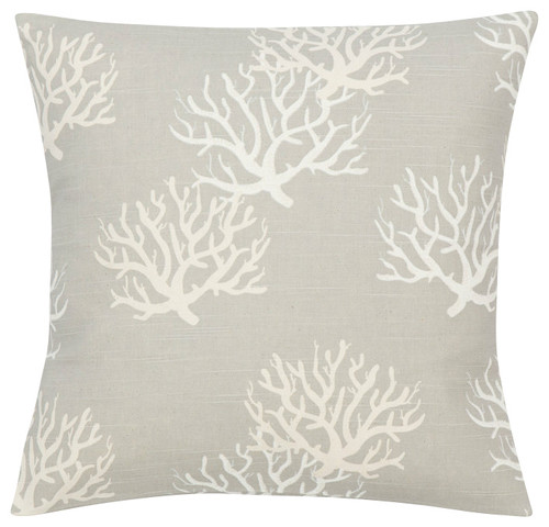 Coastal Gray Natural Pillow Cover
