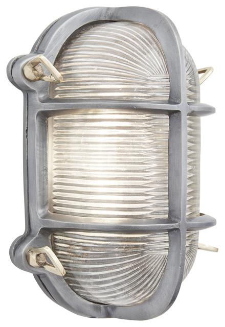 Tremendous Bulkhead Outdoor Bathroom Oval Light 6 Inch Gunmetal Wiring Database Gramgelartorg