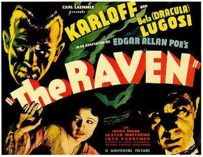 The Raven 1935 Movie Poster Midcentury Prints And