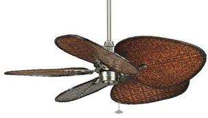 """Islander 15"""" Ceiling Fan, Motor Only, Oil Rubbed Bronze."""