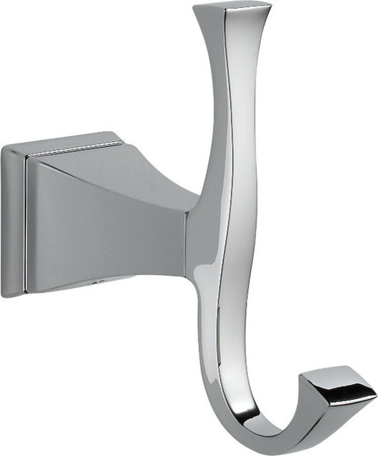 Delta Victorian Double Towel Hook in Chrome