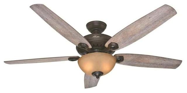 Valerian 2-Light Indoor Ceiling Fans, Brittany Bronze