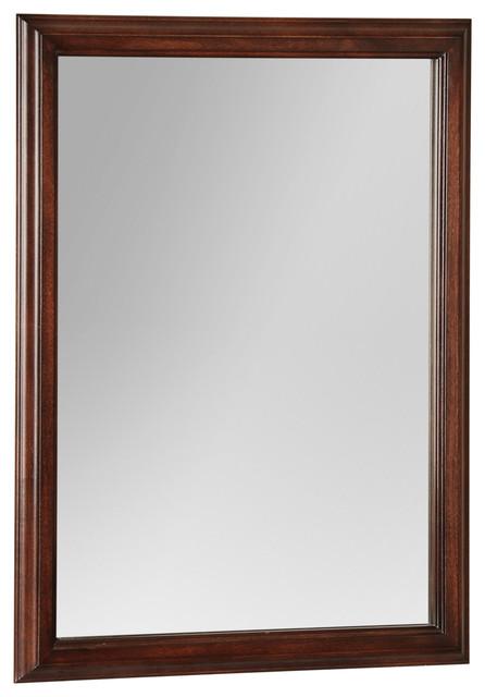 Avonwood Tobacco Mirror Traditional Bathroom Mirrors