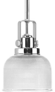 Progress Lighting P5173 15 Archie 1 Light Mini Pendant Light In Polished Chro