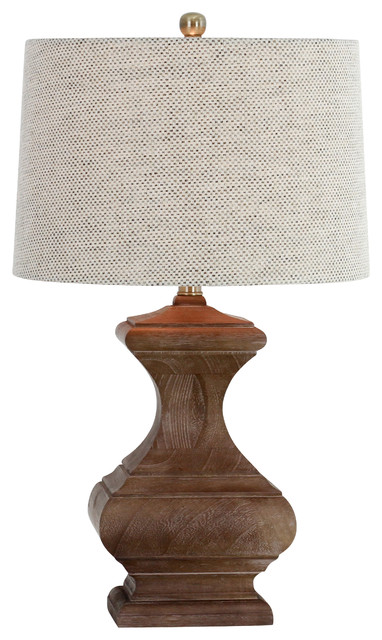 Romilly Wood Table Lamp.