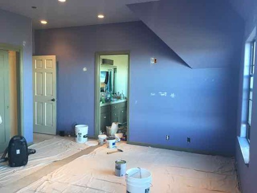 Should I Paint Sliding Closet Doors Same Color As Wall?