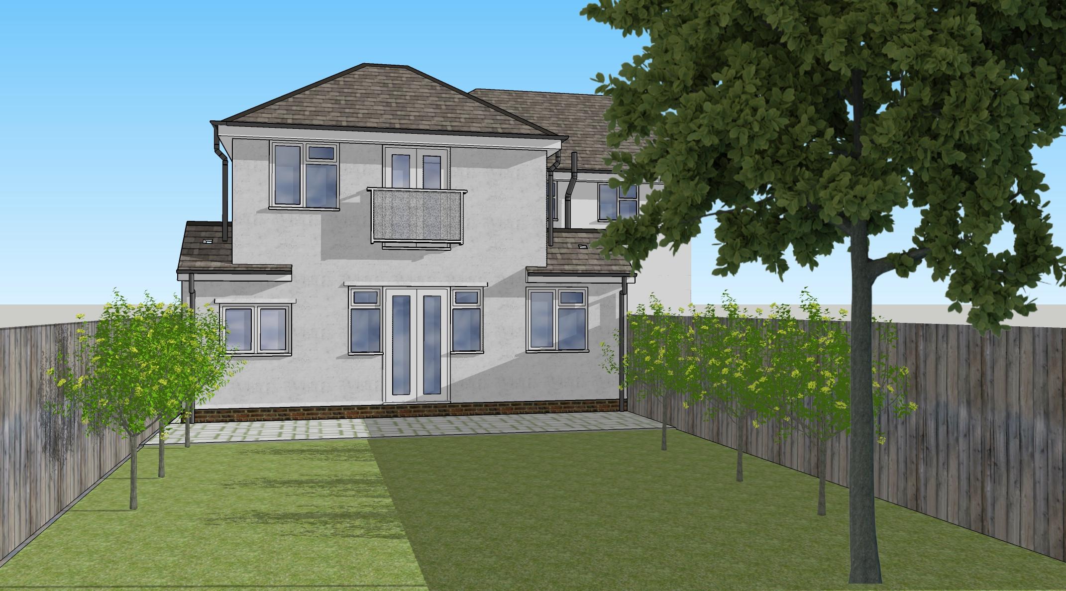 Rear House Extension Design