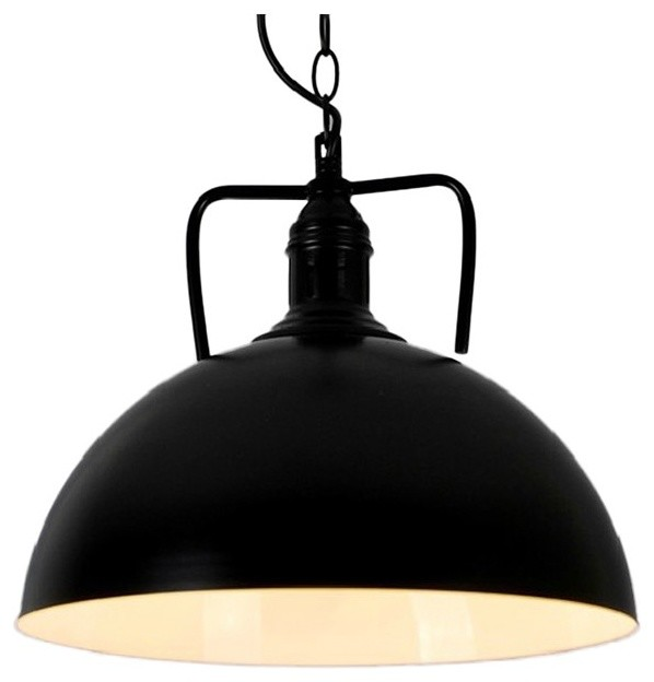 dome shade pendant light black industrial pendant lighting black pendant lighting