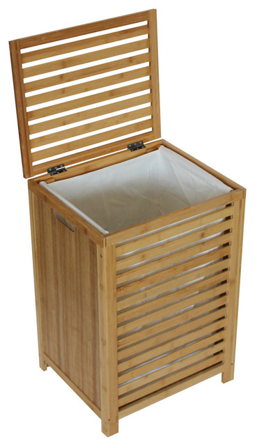 Gallerie Decor Bamboo Natural Spa Hamper View