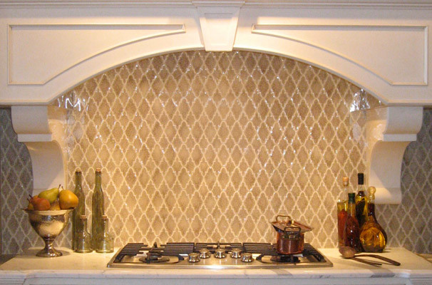 Arabesque Kitchen Backsplash Traditional Kitchen New