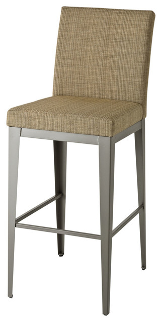 Amisco Amisco Pablo Upholstered Back Non Swivel Stool