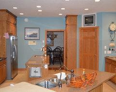 Kitchen Paint Colors With Golden Oak Cabinets