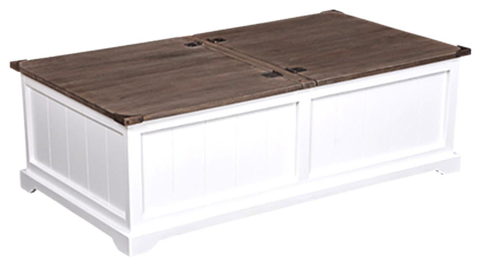 Susanna Rustic Coffee Table With