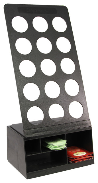 15 K-Cup Holder and Condiment Holder Combo