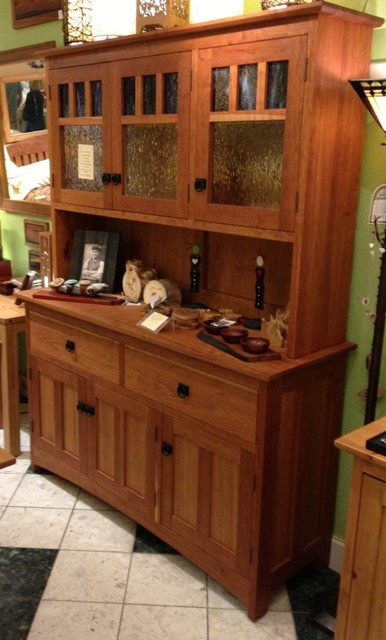 "Solid Cherry ""Craftsman"" Hutch - Craftsman - China Cabinets And Hutches - Denver - by Boulder ..."