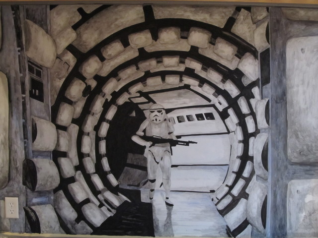 Star Wars Murals Traditional Part 77