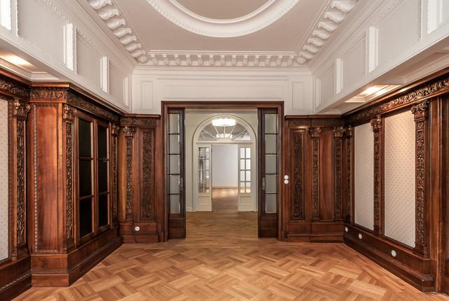 herrenzimmer klassisch berlin von primephoto architektur innendesign immobilien. Black Bedroom Furniture Sets. Home Design Ideas