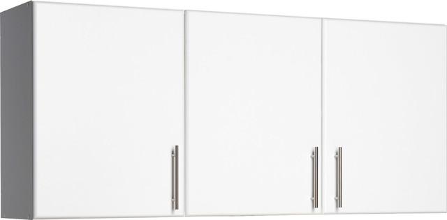 "Elite 54"" Wall Cabinet, White."