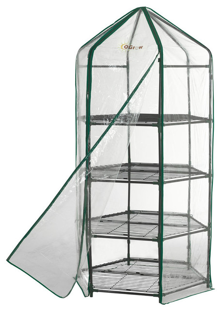 Upper Bounce Ogrow Ultra-Deluxe 4 Tier Hexagonal Flower Planthouse.