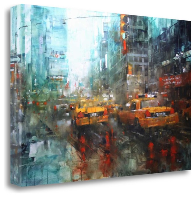 Montreal Rain By Mark Lague Contemporary Prints And