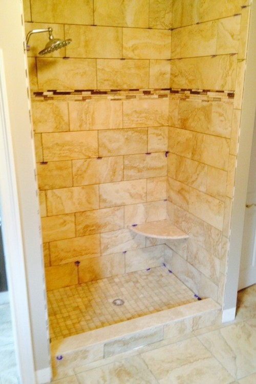 Shower stall conversion done by ds tile and marble do you like ?