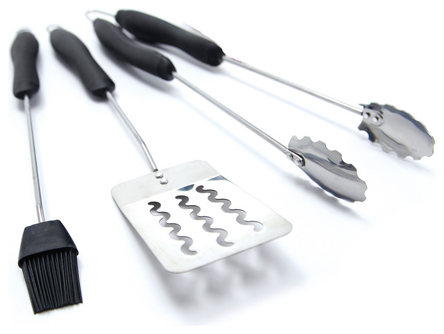 Grillpro Stainless Steel Grill Tool Set 3-Piece.