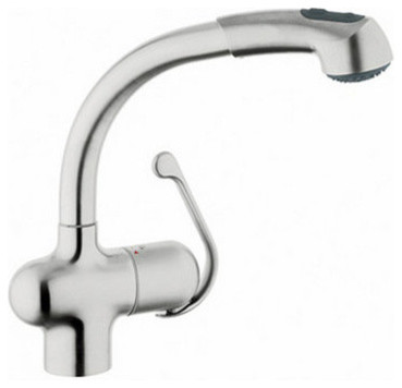 Ladylux Plus Kitchen Faucet With Dual Spray Pull Out