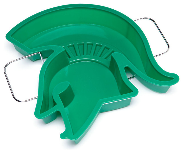 Michigan State Spartans Sparty Head Cake Pan And Stand.